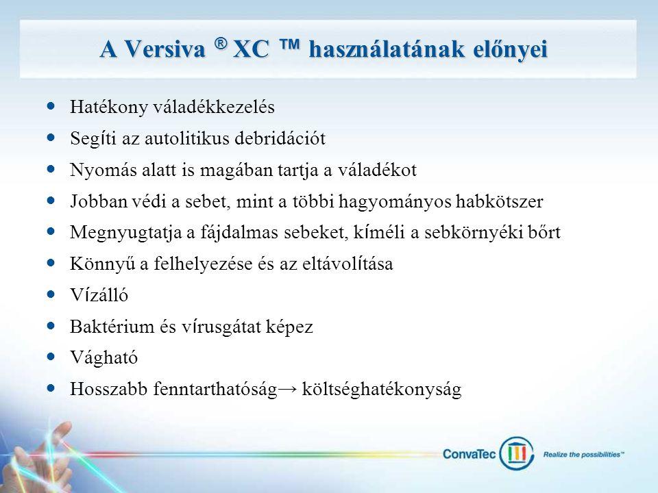 A Versiva ® XC ™ használatának előnyei