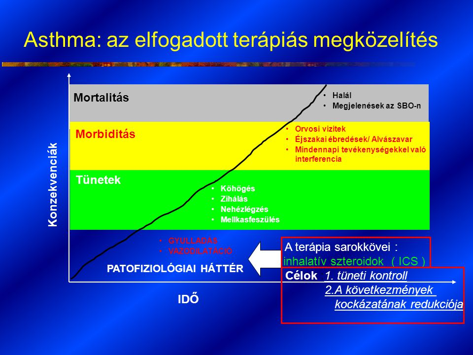 Asthma: az elfogadott terápiás megközelítés