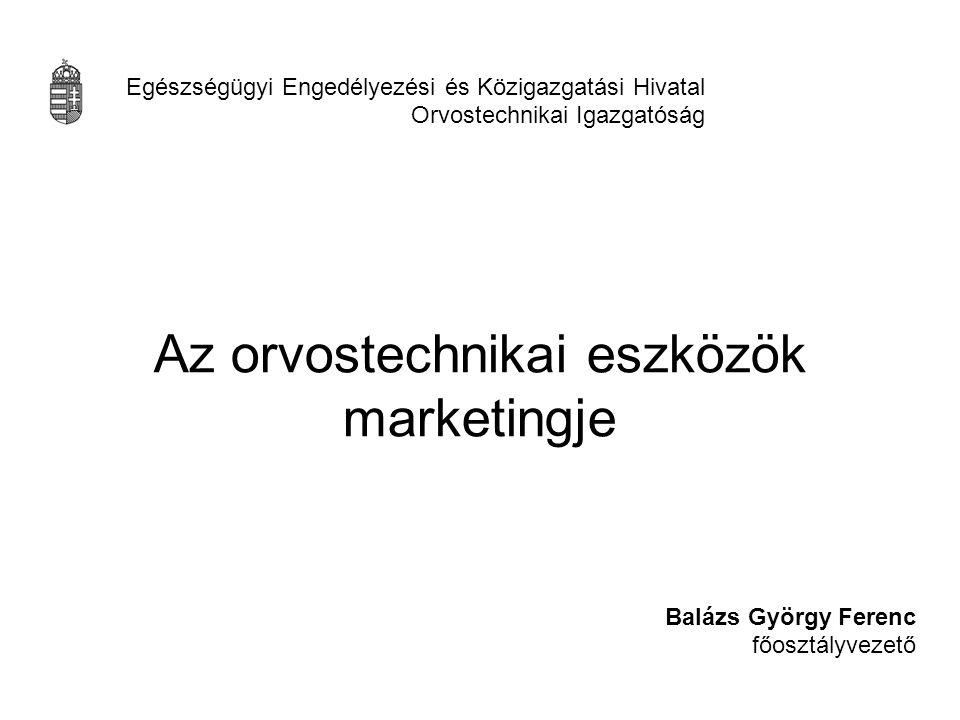 Az orvostechnikai eszközök marketingje