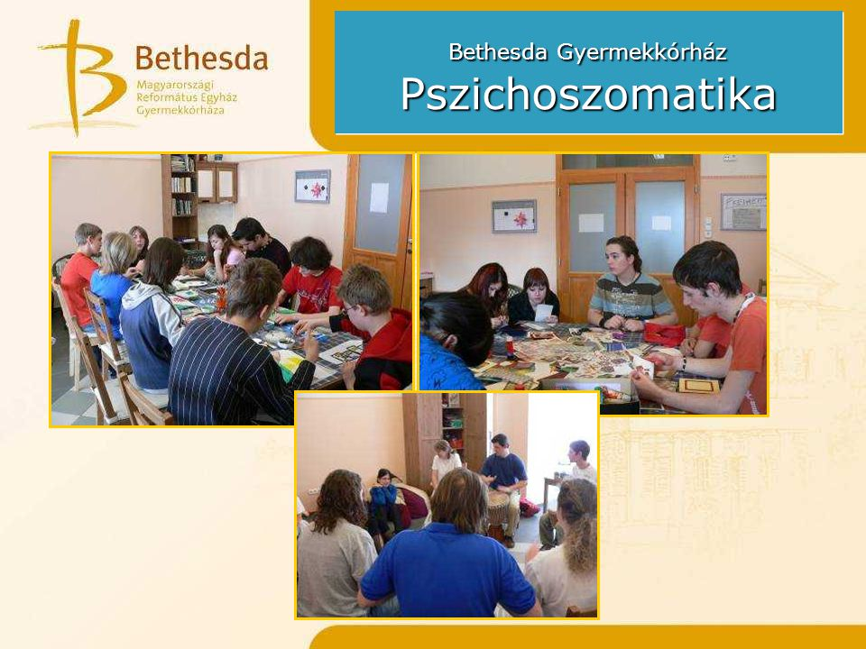 Bethesda Gyermekkórház Pszichoszomatika
