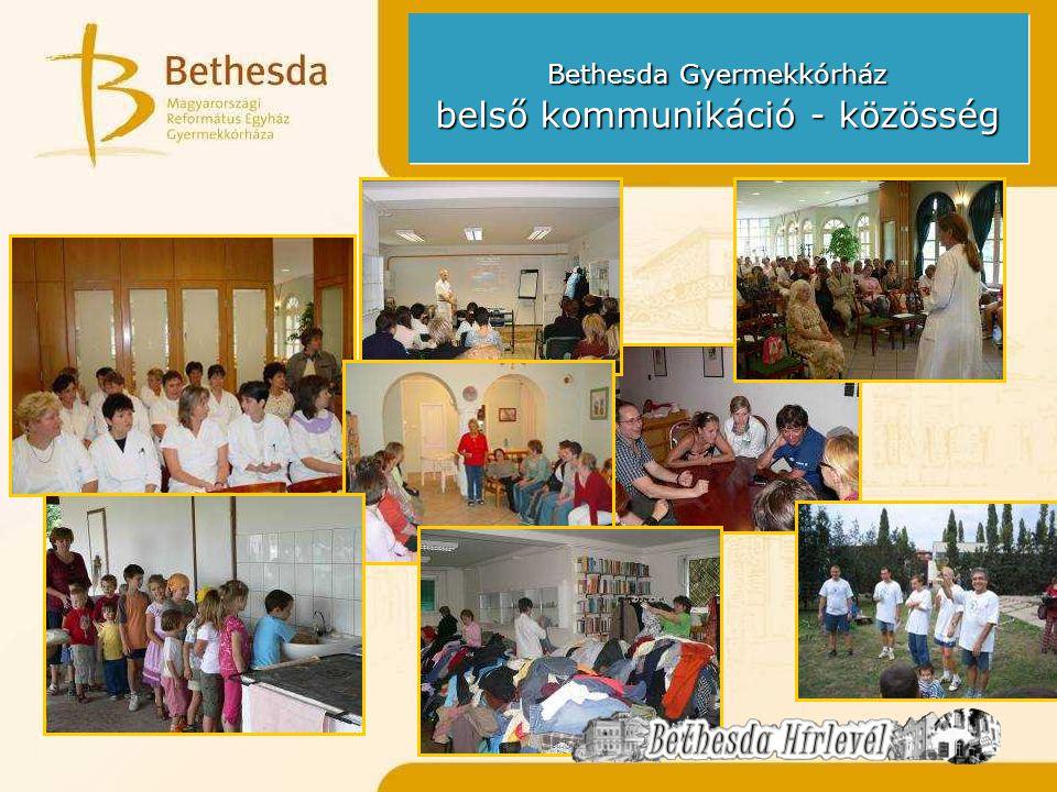 Bethesda Gyermekkórház belső kommunikáció - közösség