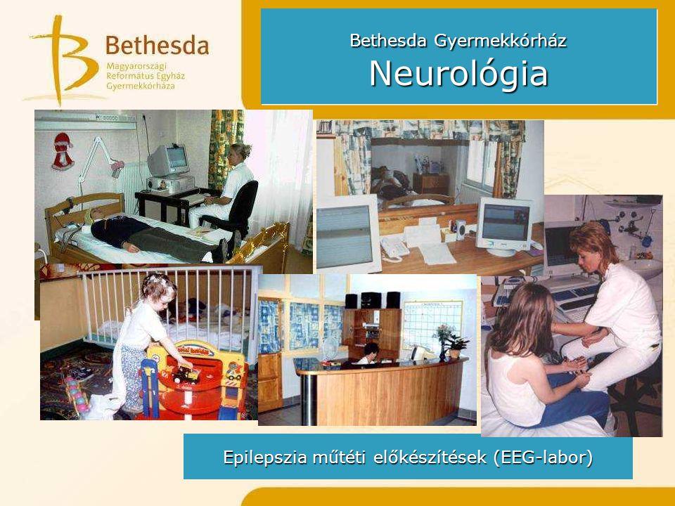 Epilepszia műtéti előkészítések (EEG-labor)
