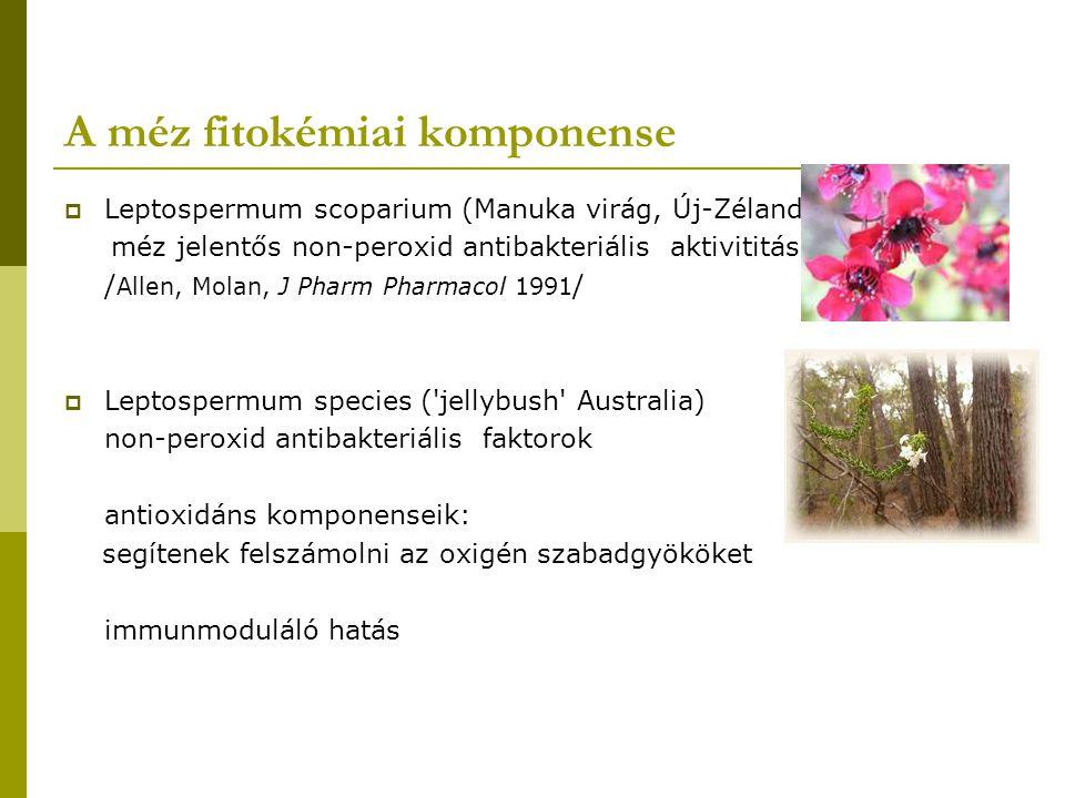 A méz fitokémiai komponense