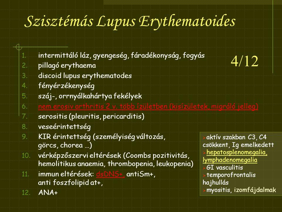 Szisztémás Lupus Erythematoides