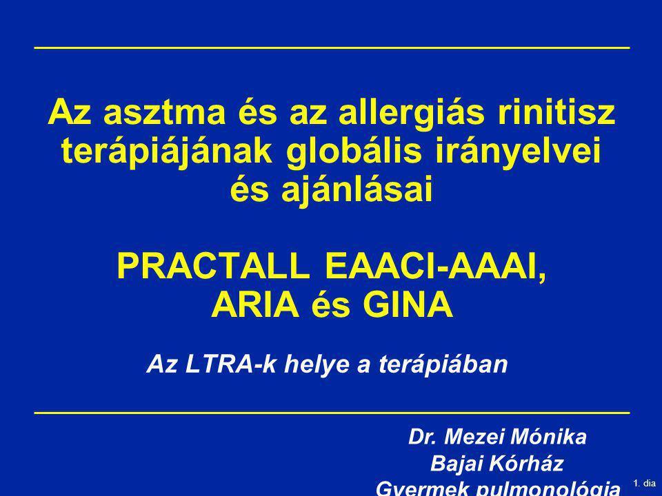 Az LTRA-k helye a terápiában