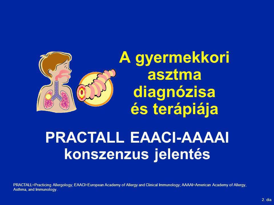 A gyermekkori asztma diagnózisa és terápiája