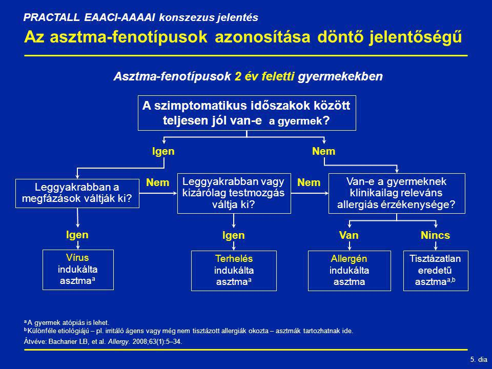 Az asztma-fenotípusok azonosítása döntő jelentőségű