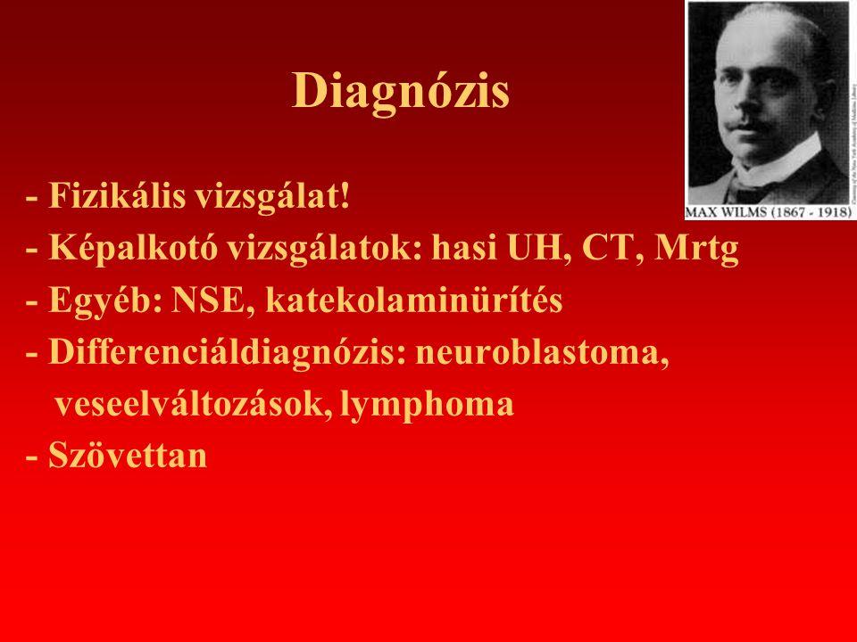 Diagnózis - Fizikális vizsgálat!