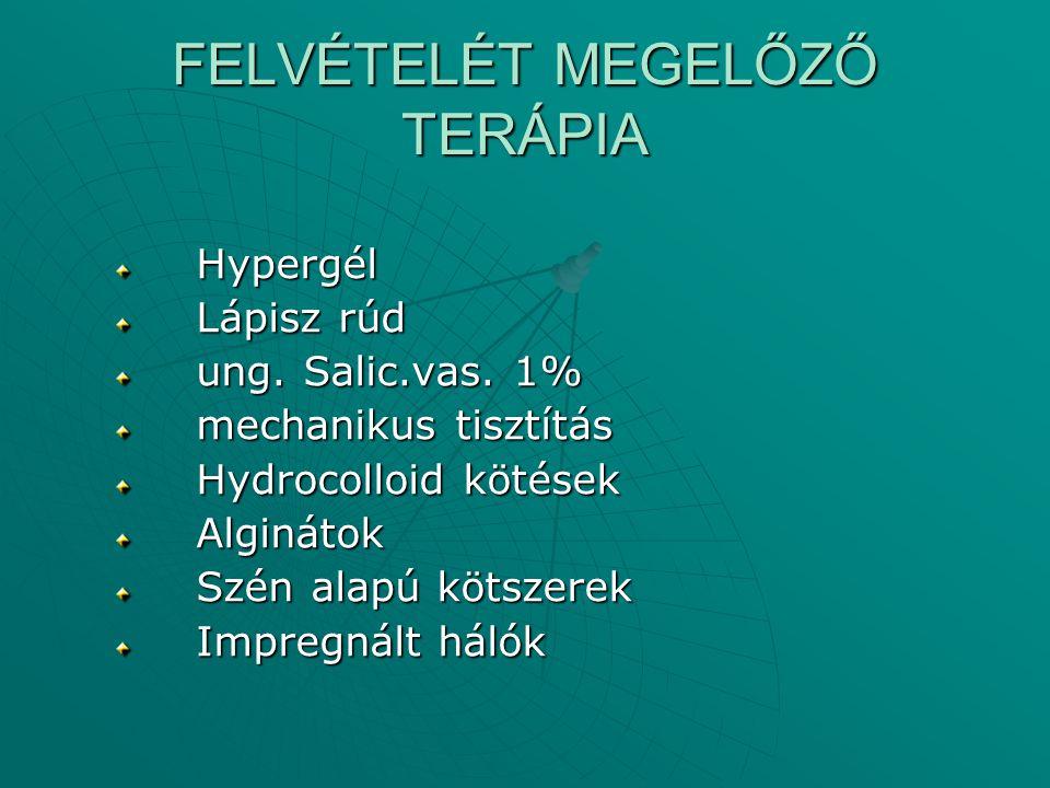 FELVÉTELÉT MEGELŐZŐ TERÁPIA