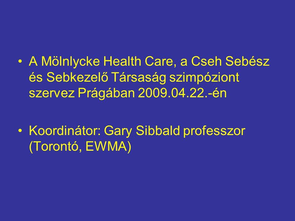 A Mölnlycke Health Care, a Cseh Sebész és Sebkezelő Társaság szimpóziont szervez Prágában 2009.04.22.-én