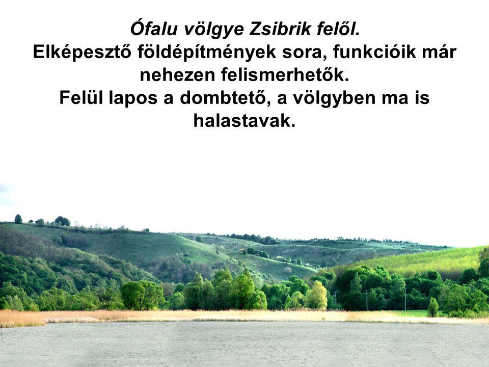 Ófalu völgye Zsibrik felől.