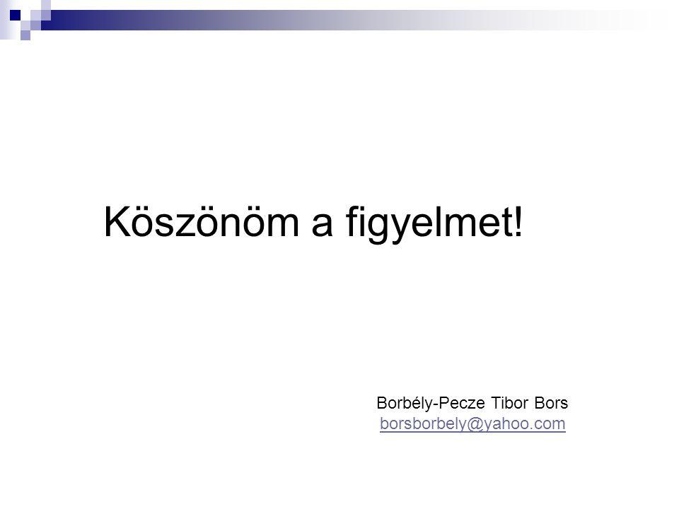 Borbély-Pecze Tibor Bors borsborbely@yahoo.com