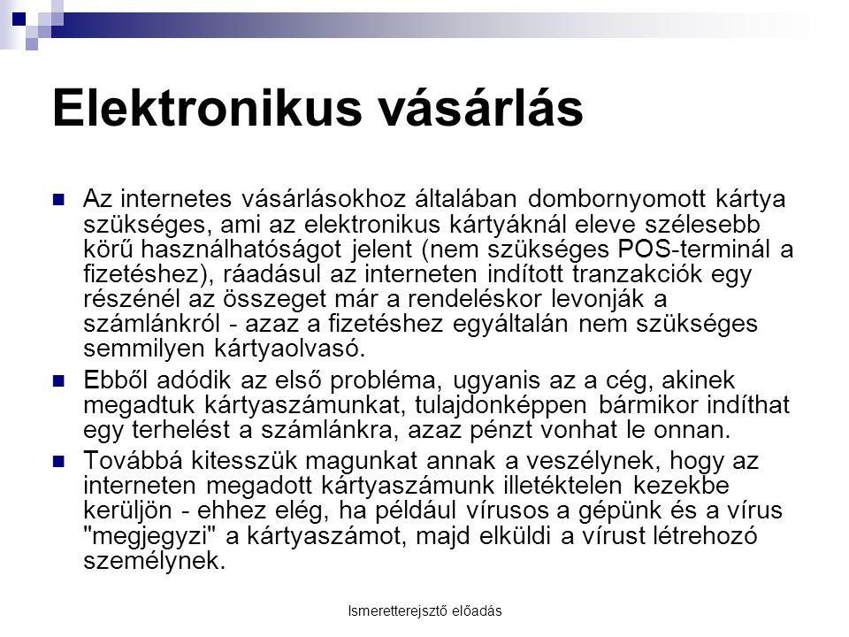 Elektronikus vásárlás