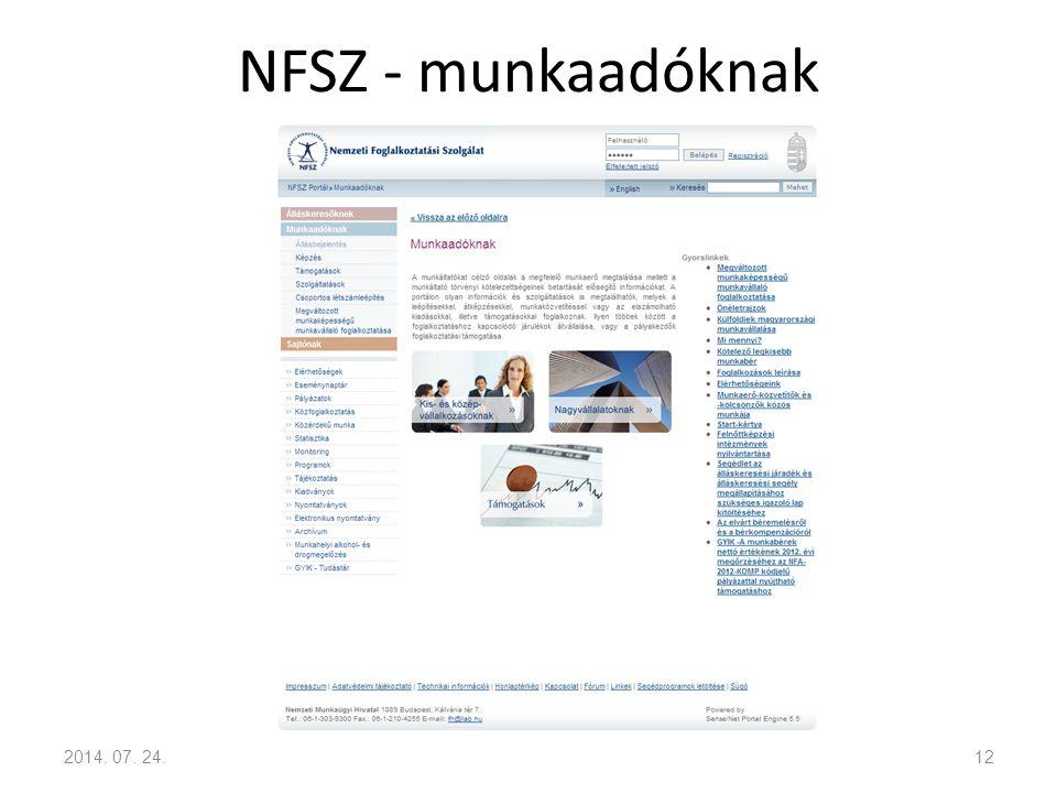 NFSZ - munkaadóknak 2017.04.04.