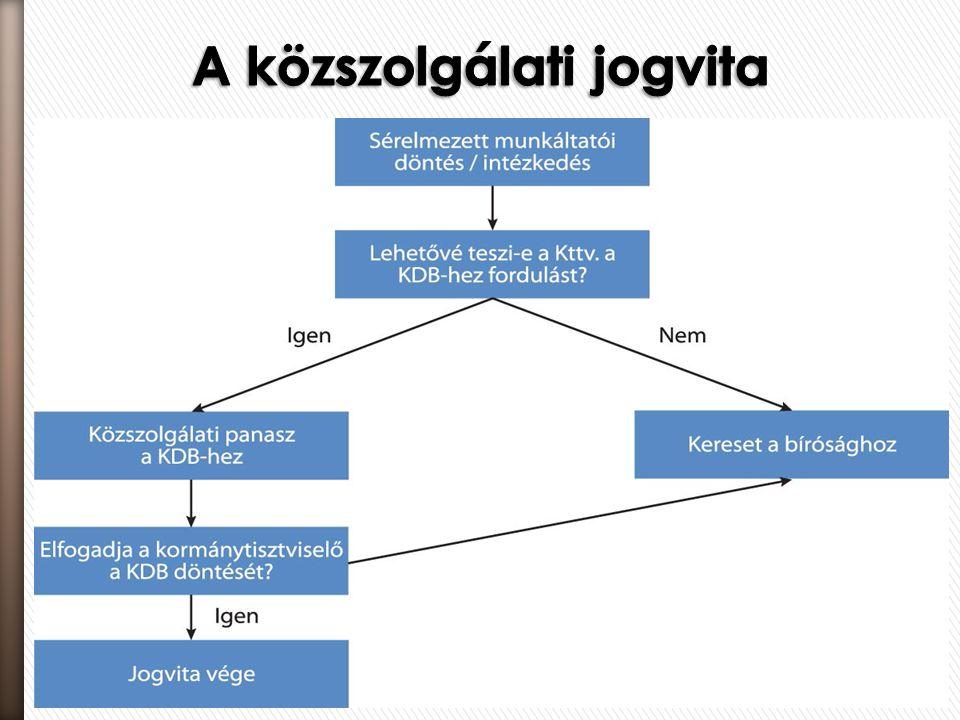 A közszolgálati jogvita