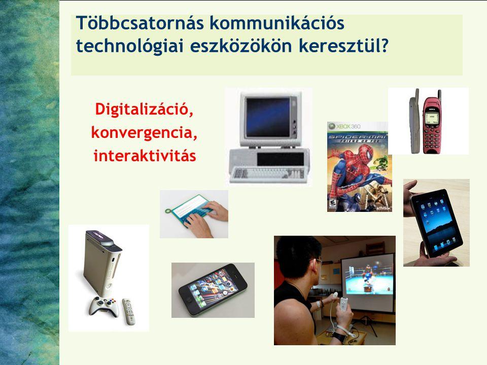 Többcsatornás kommunikációs technológiai eszközökön keresztül