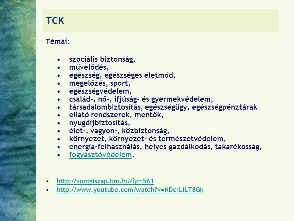 TCK Témái: