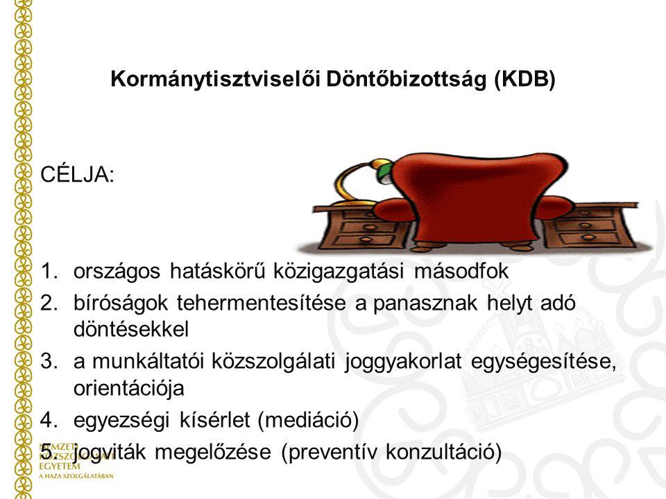 Kormánytisztviselői Döntőbizottság (KDB)