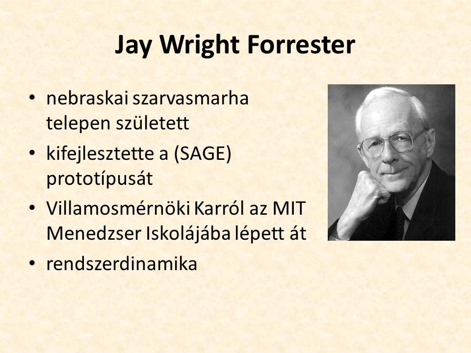 Jay Wright Forrester nebraskai szarvasmarha telepen született