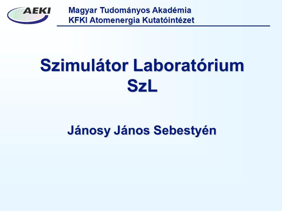 Szimulátor Laboratórium SzL