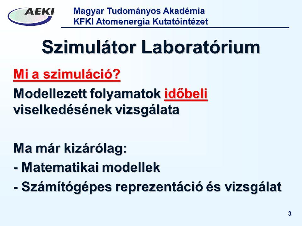 Szimulátor Laboratórium