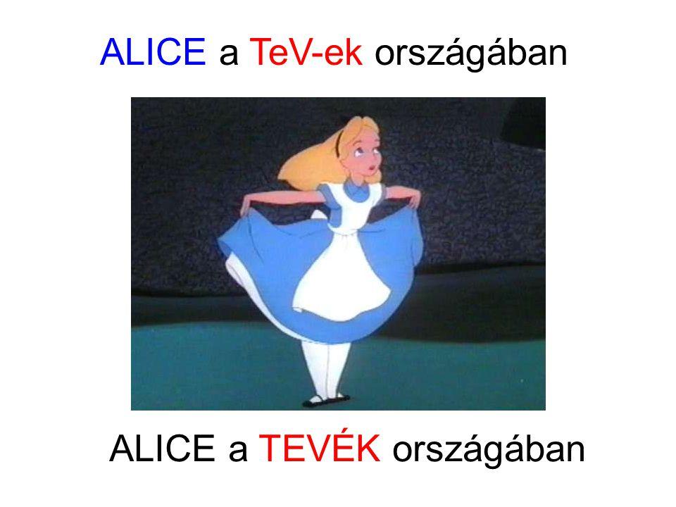 ALICE a TeV-ek országában