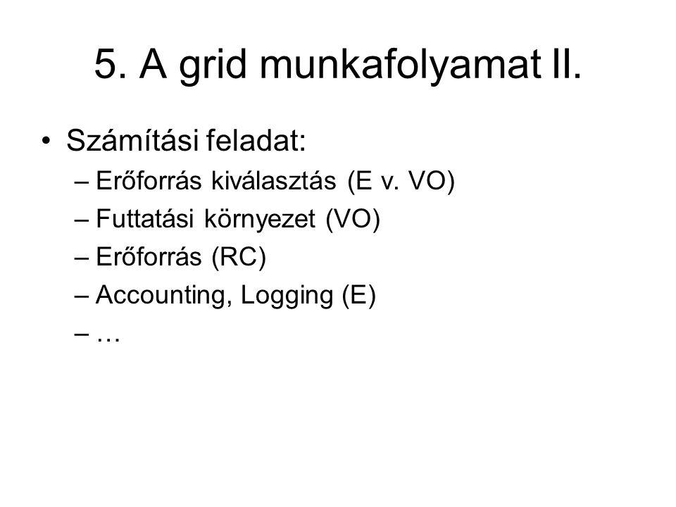 5. A grid munkafolyamat II.