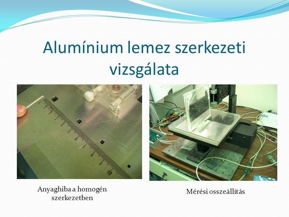 Alumínium lemez szerkezeti vizsgálata