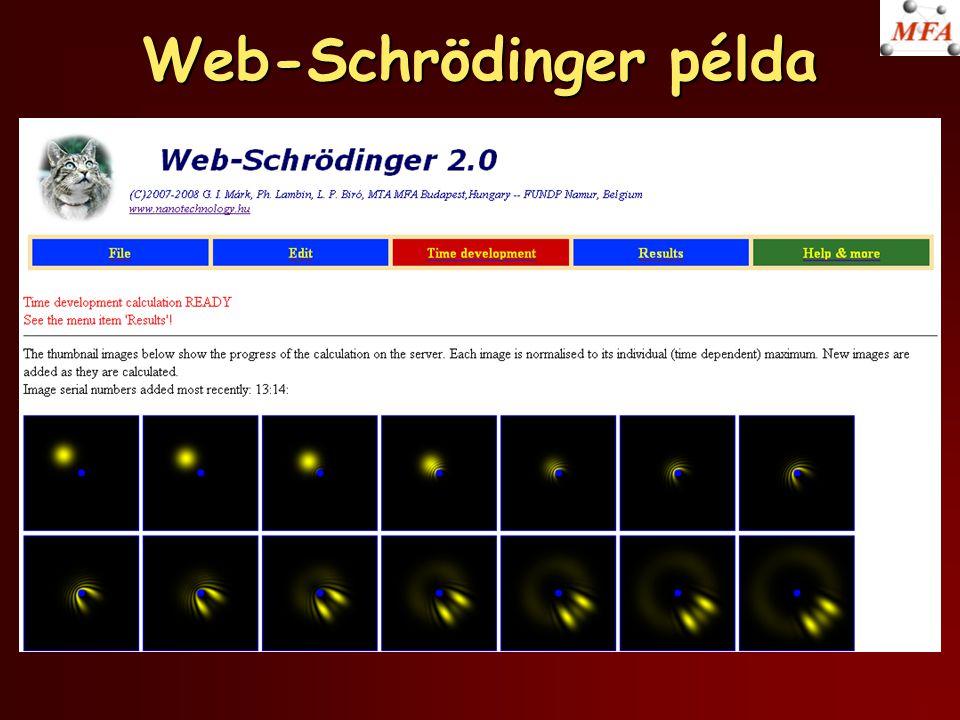 Web-Schrödinger példa