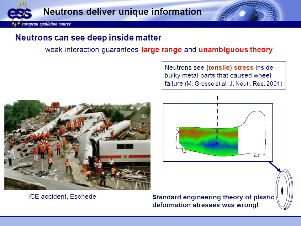 Neutrons deliver unique information