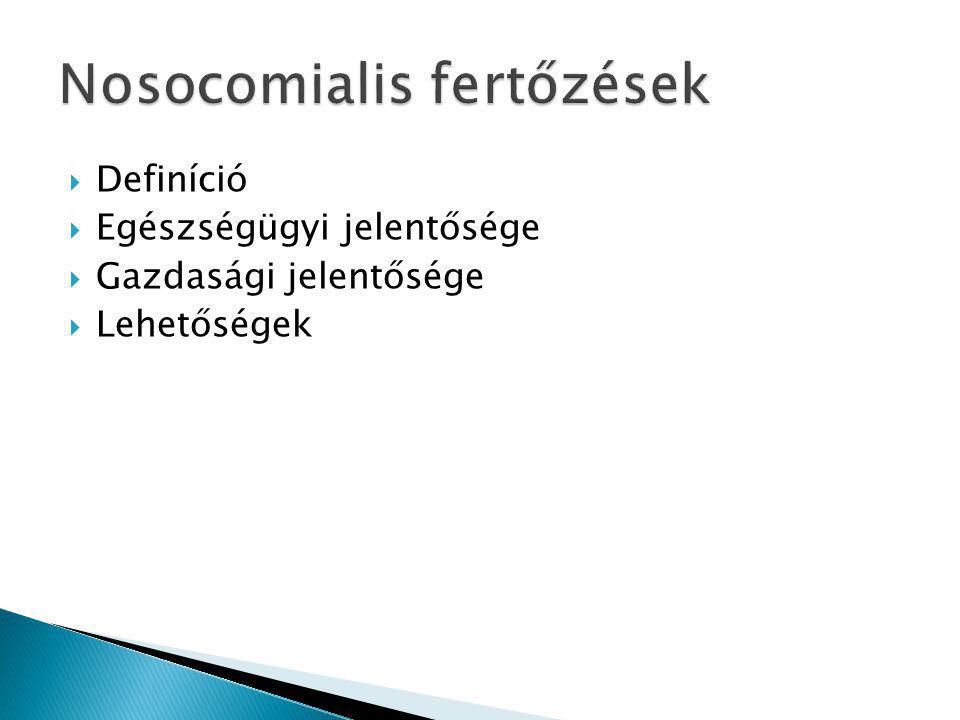 Nosocomialis fertőzések