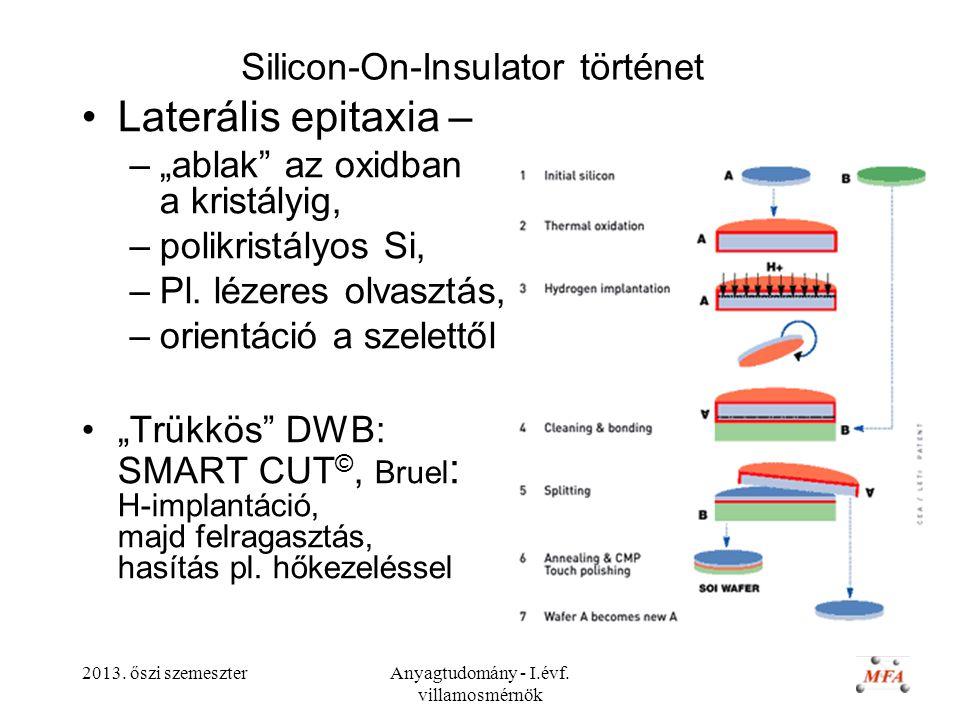 Silicon-On-Insulator történet