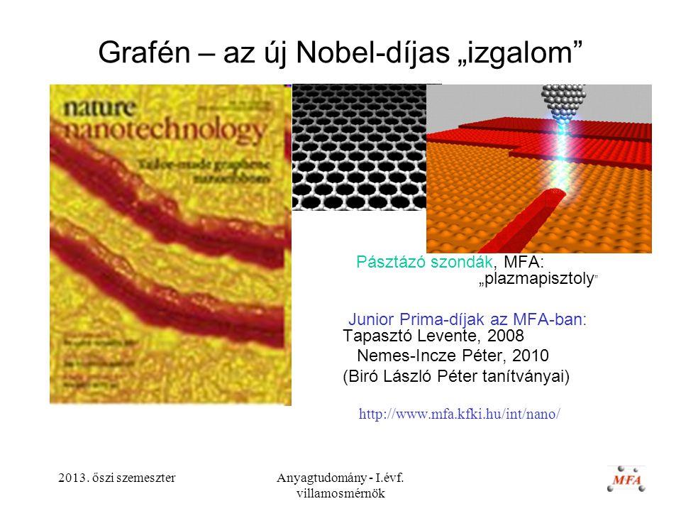 """Grafén – az új Nobel-díjas """"izgalom"""