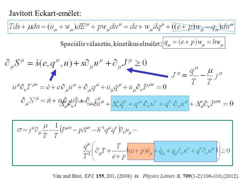 Javított Eckart-emélet: