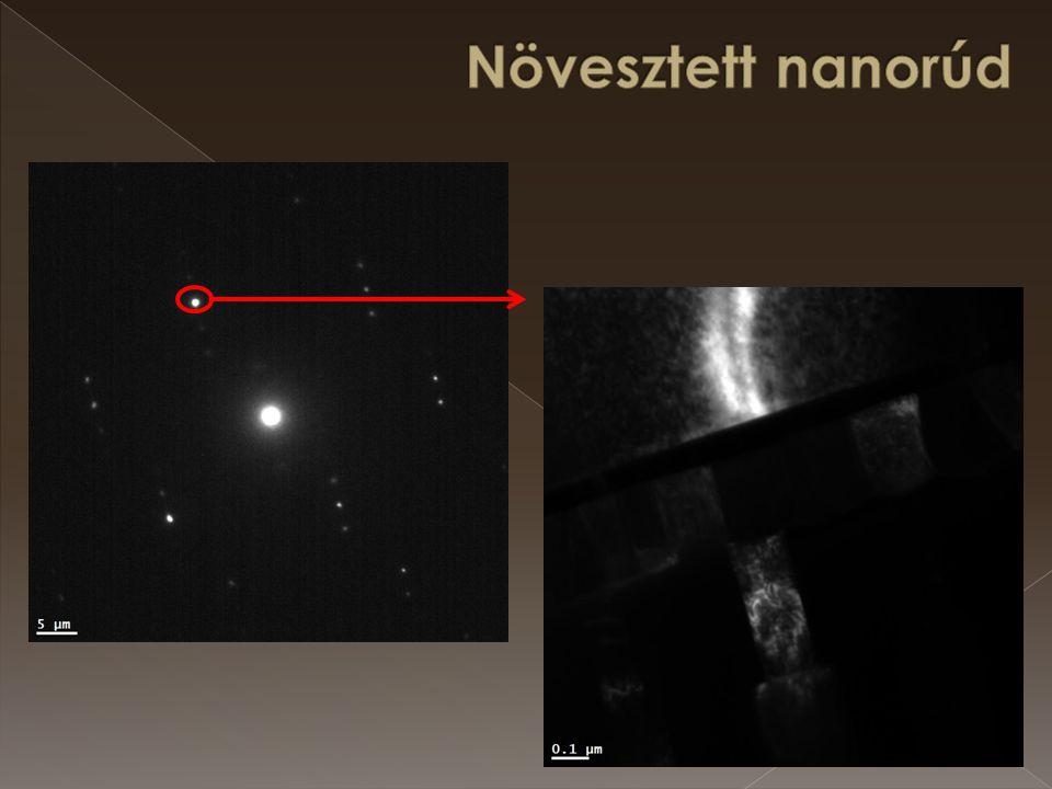 Növesztett nanorúd