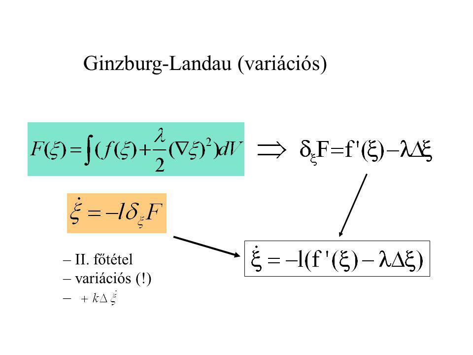Ginzburg-Landau (variációs)