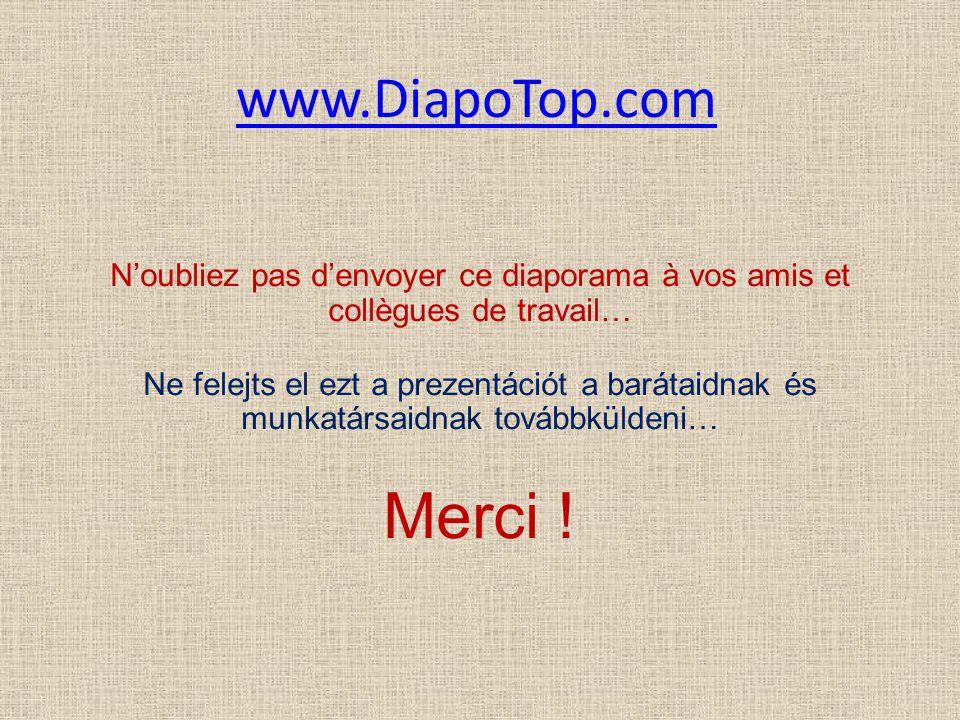 www.DiapoTop.com N'oubliez pas d'envoyer ce diaporama à vos amis et collègues de travail…