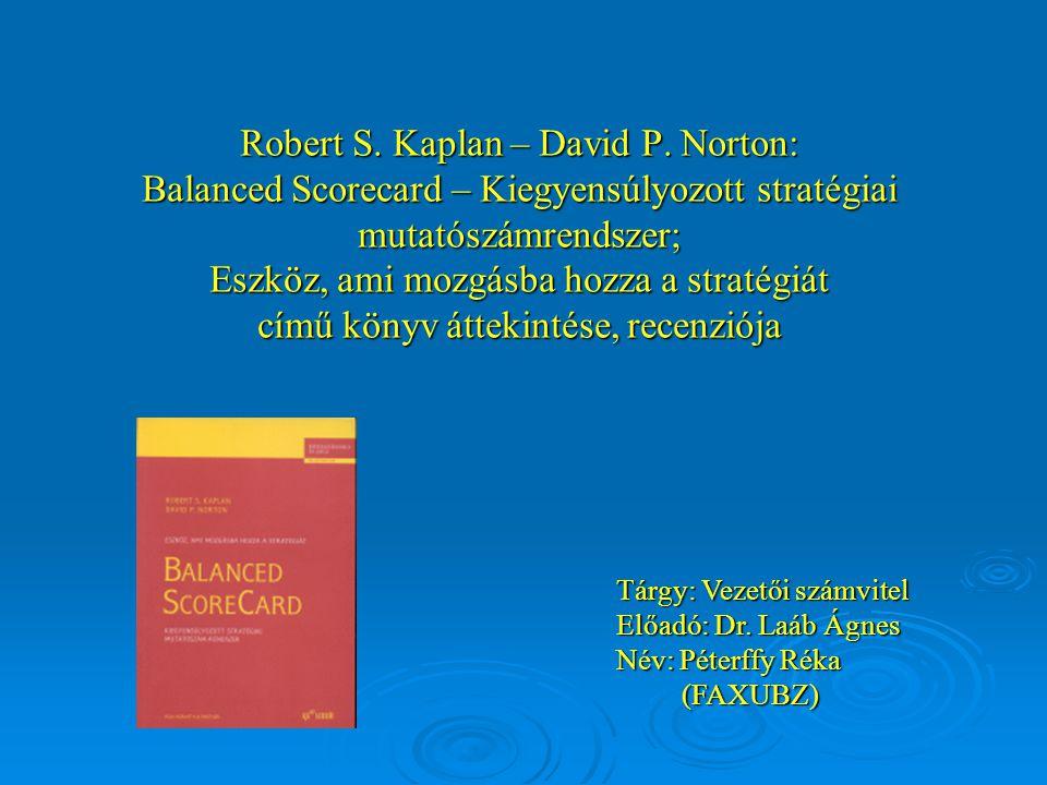 Robert S. Kaplan – David P