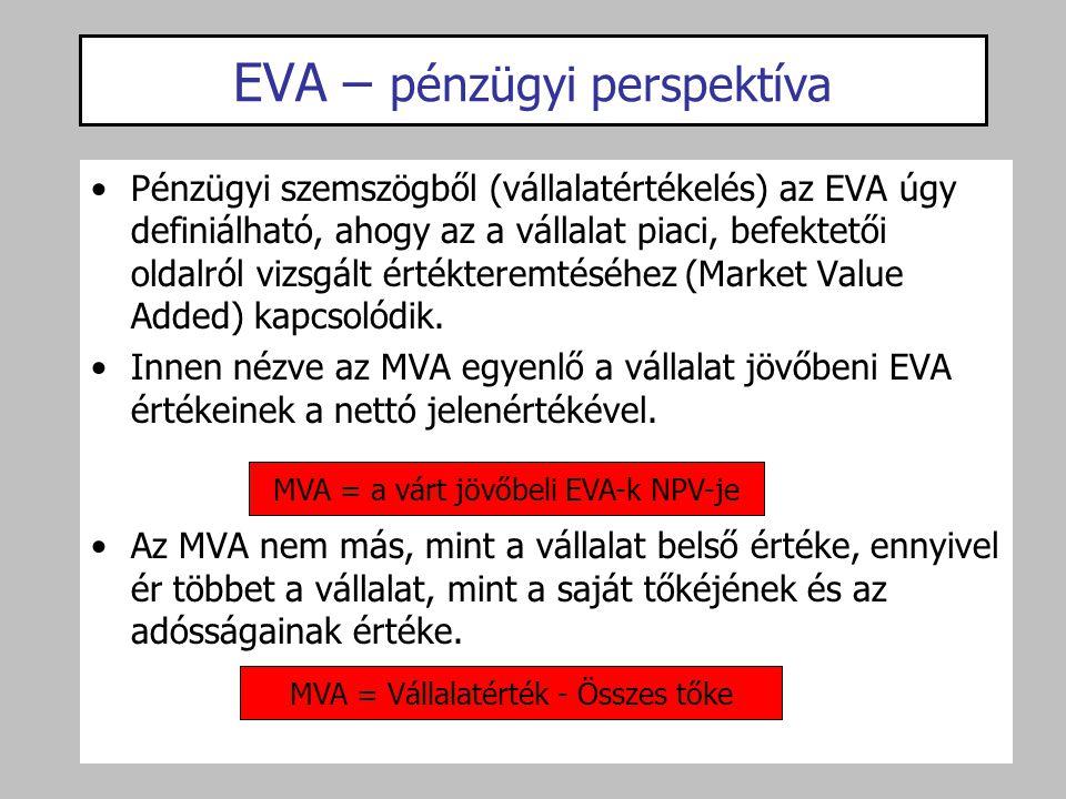 EVA – pénzügyi perspektíva