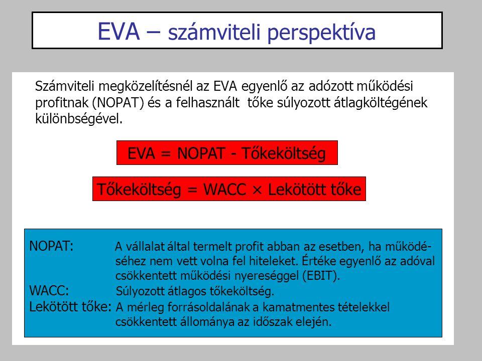EVA – számviteli perspektíva