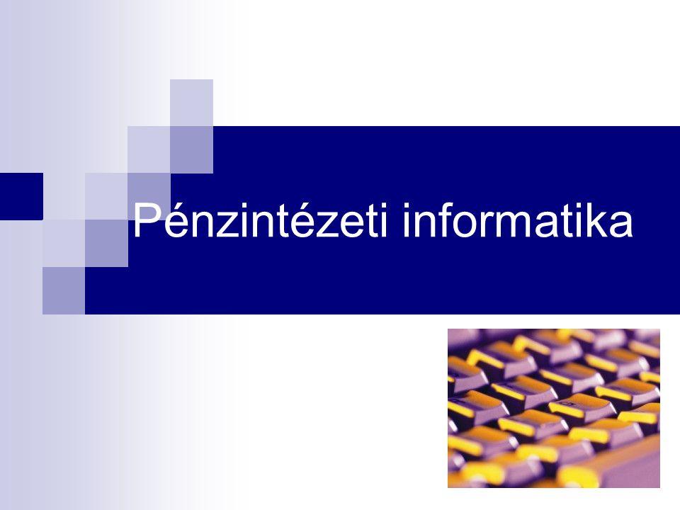 Pénzintézeti informatika