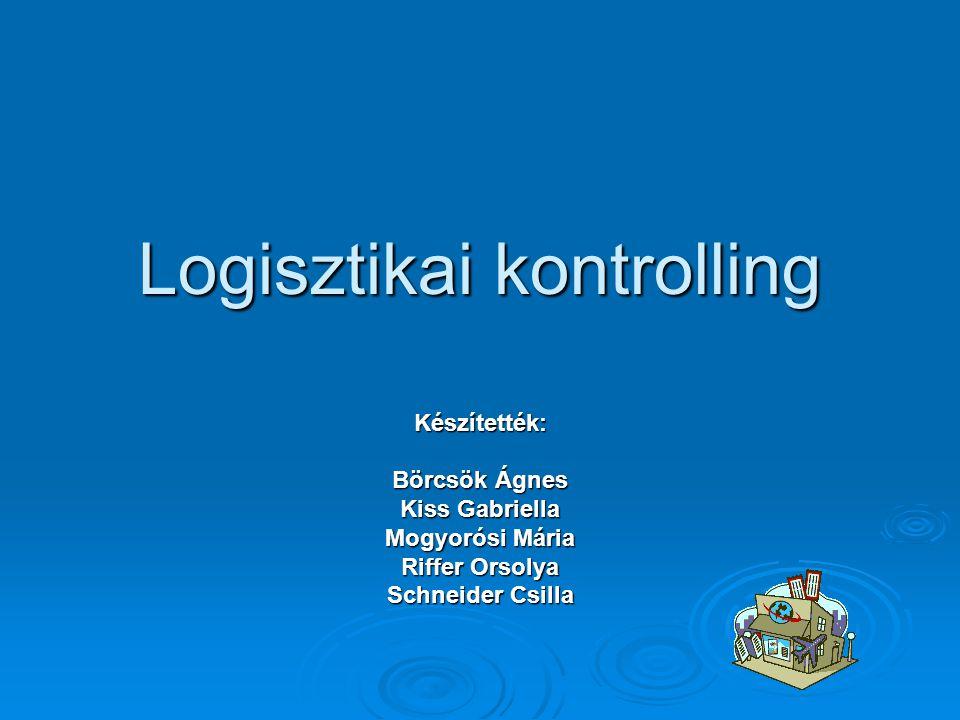 Logisztikai kontrolling