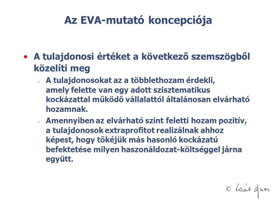 Az EVA-mutató koncepciója