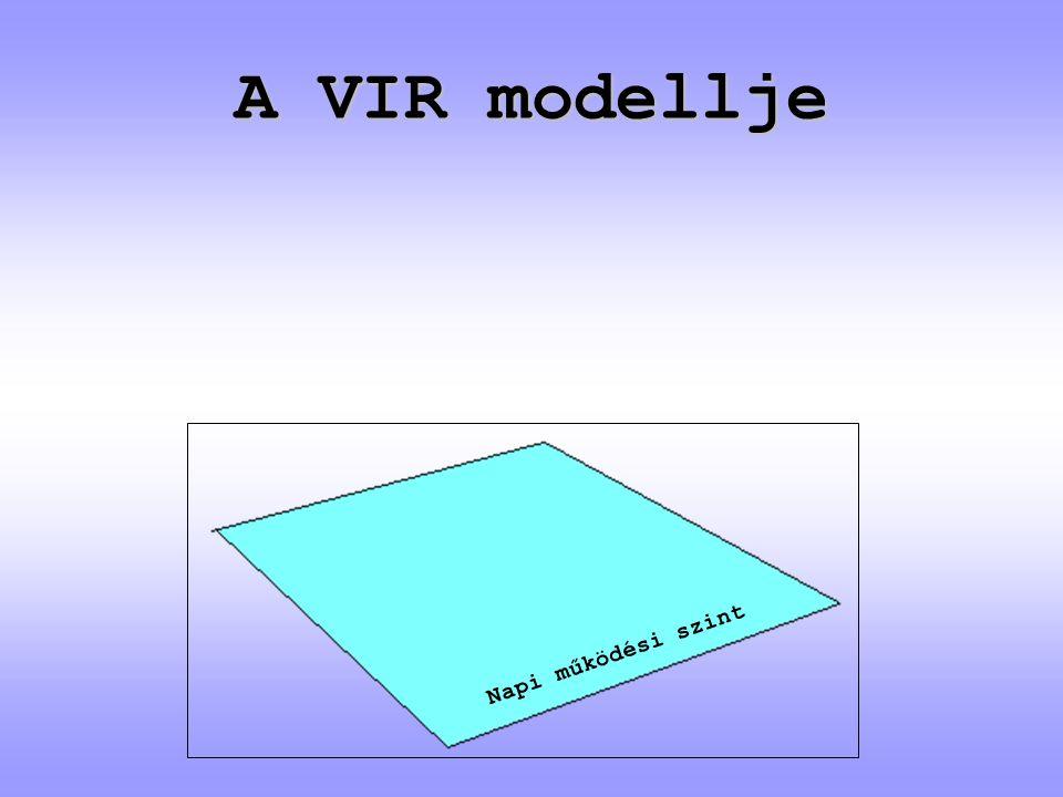 A VIR modellje Napi működési szint