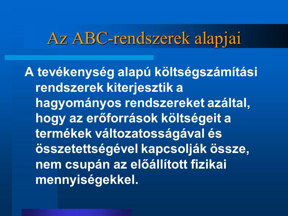 Az ABC-rendszerek alapjai