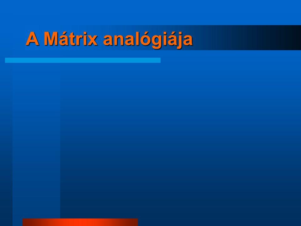 A Mátrix analógiája 5 5
