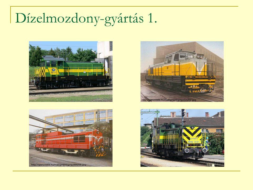 Dízelmozdony-gyártás 1.