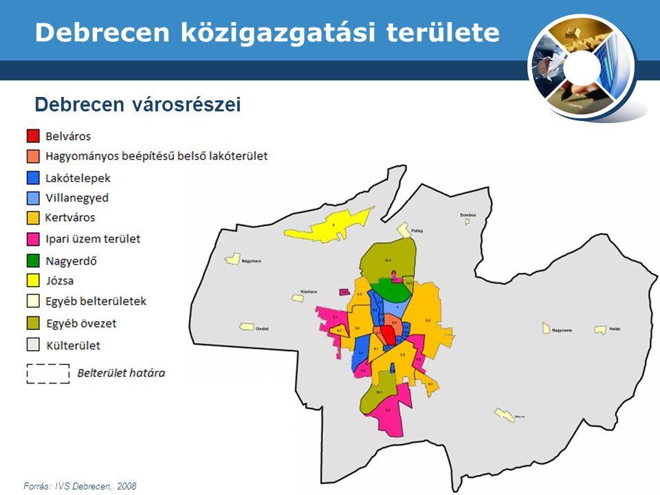 Debrecen közigazgatási területe