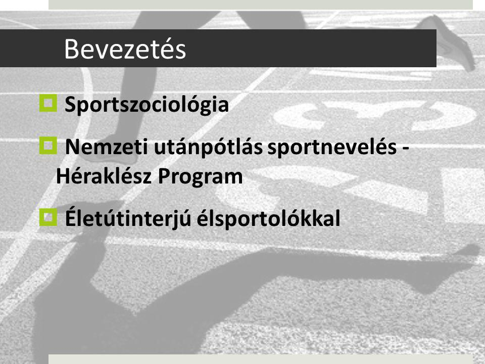 Bevezetés Sportszociológia