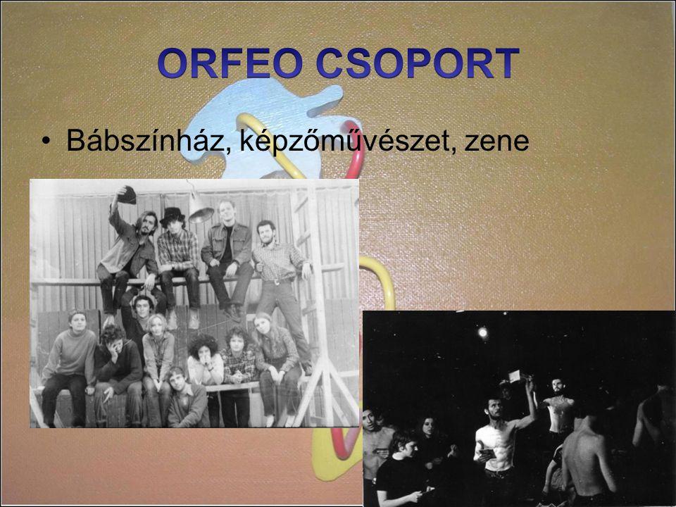 ORFEO CSOPORT Bábszínház, képzőművészet, zene
